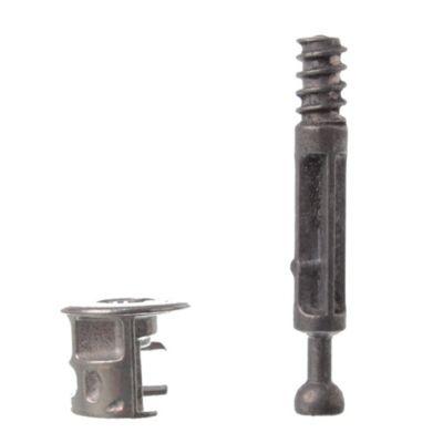 Minifix para placa 18 mm 4 u