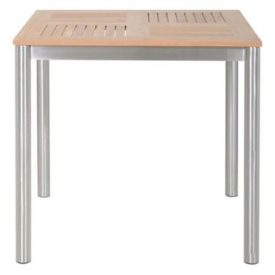Mesa de madera y aluminio baleares