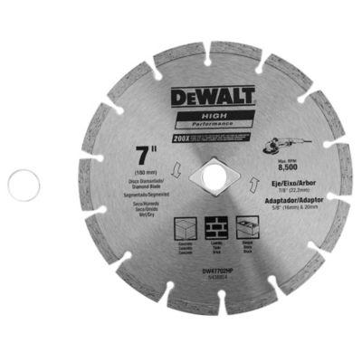 Disco diamantado 7 segmentado