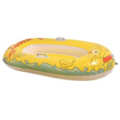 Bote junior crustáceo feliz