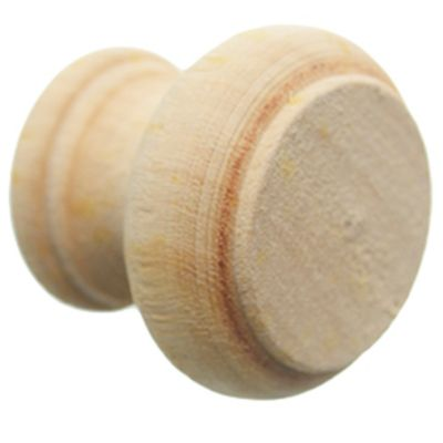 Tirador santa clara 35 mm madera natural 25 u