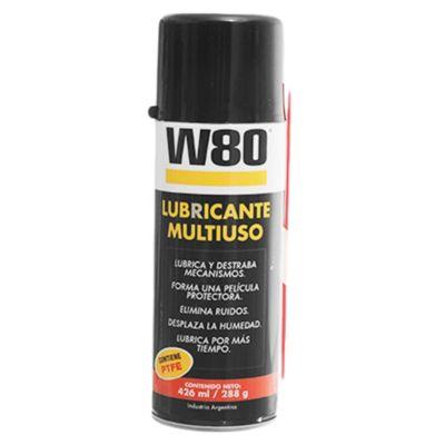 W80 multiuso con ptfe aerosol 288 g
