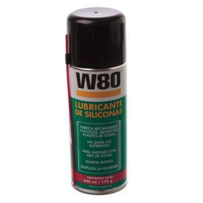 W80 lubricante de silicona 170 g