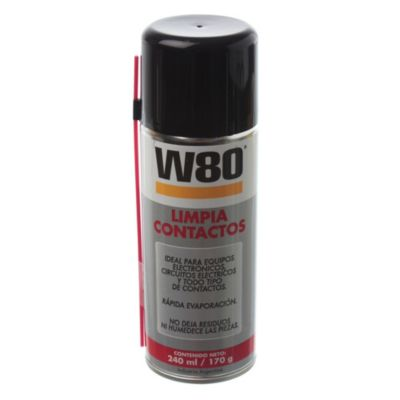 W80 limpia contactos aerosol 170 g
