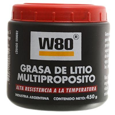 W80 grasa multipropósito litio 450 g