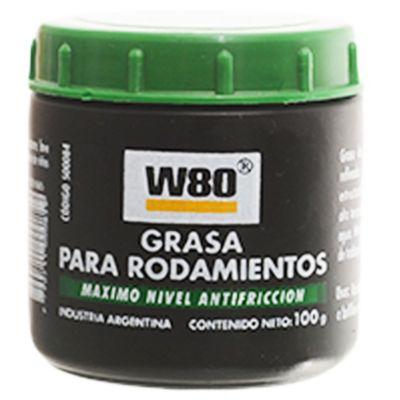 W80 grasa para rodamientos 100 g