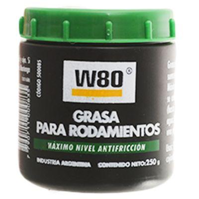 W80 grasa para rodamientos 250 g
