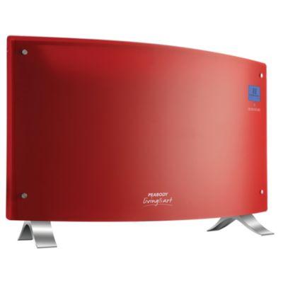 Panel vitroconvector rojo curvo 2000 w