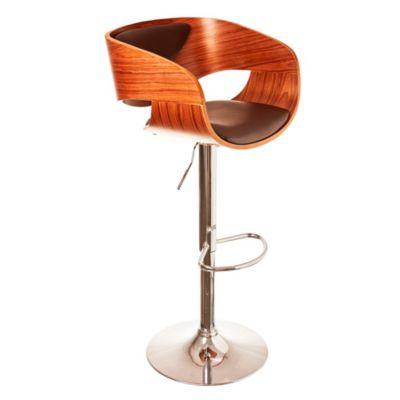 Silla para bar de madera