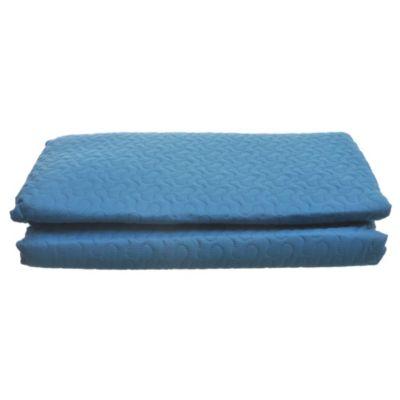 Cobertor + funda 215 x 220 cm azul