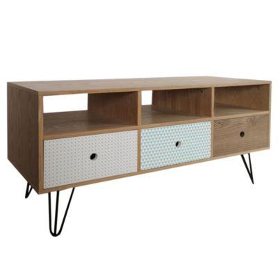 Mesa para TV vintage 120 x 40 x 60 cm