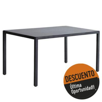 Mesa siena gris aluminio