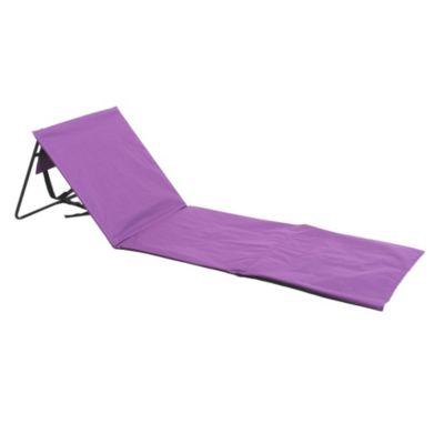 Reposera a piso violeta