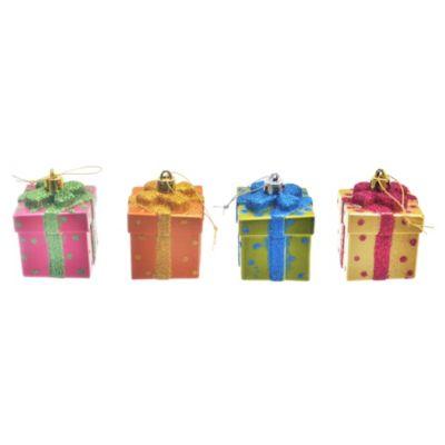 Set adornos caja de regalo x 4 unidades