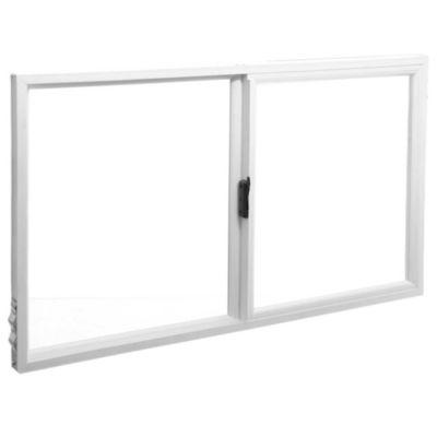 Ventana de PVC corrediza blanca 100 x 60 cm