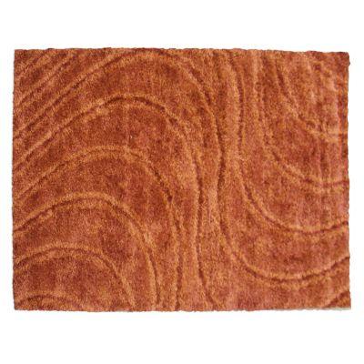Alfombra shaggy family 160 x 230 cm naranja