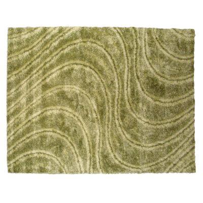 Alfombra shaggy family 200 x 290 cm verde