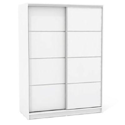 Placard 135 x 180 cm blanco doble espejo