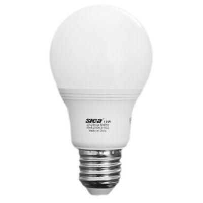 Lámpara LED10 w E 27 cálida