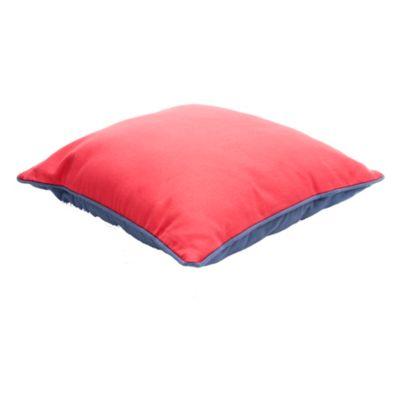Almohadón para exterior marino azul y rojo 50 x 30 cm