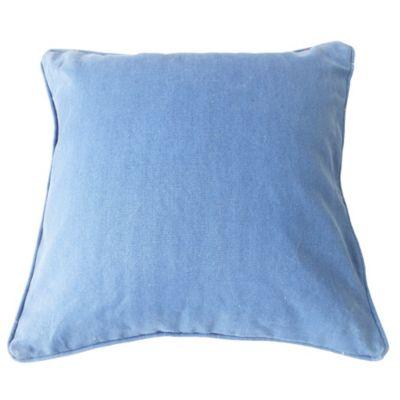 Almohadón para exterior marino azul y rojo 50 x 50 cm