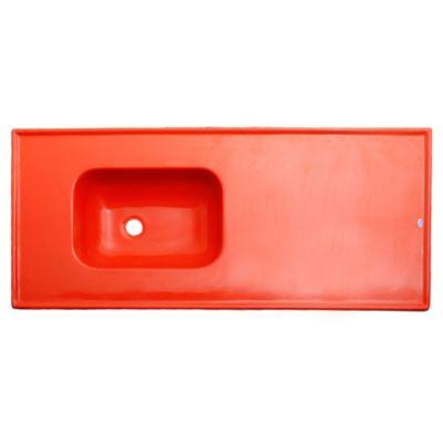 Mesada 120 x 53 cm roja