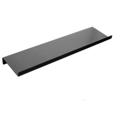 Estante recto metálico negro 45 cm