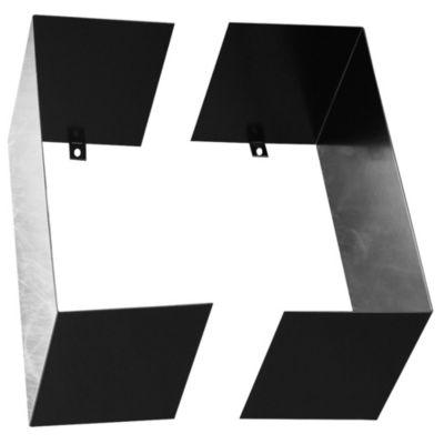 Estante metálico modular negro