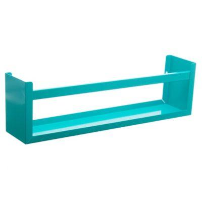 Repisa metálica box aqua