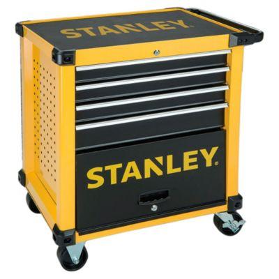 Carro metálico para herramientas stanley 4 bandejas