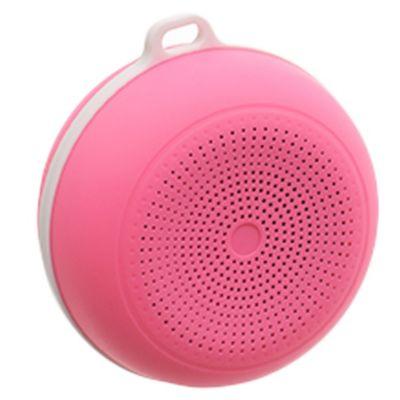 Parlante bluetooth para smartphone rosa