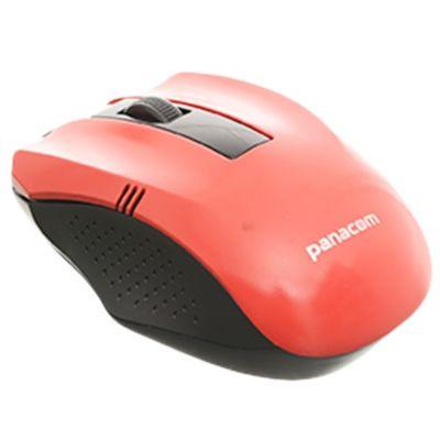Mouse óptico USB rojo