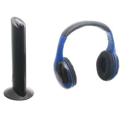 Auriculares inalámbricos azul