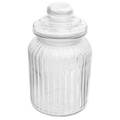 Frasco con tapa de vidrio 750 ml