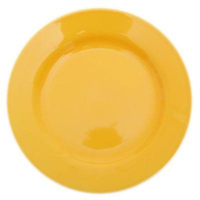 Plato playo 24 cm amarillo