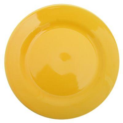 Plato de postre 18 cm amarillo