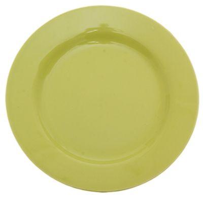 Plato plato 24 cm verde manzana