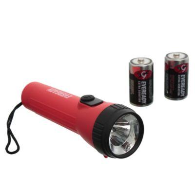 Linterna LED pilas 2d