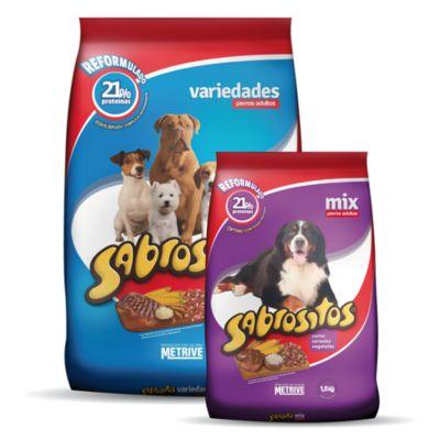 Comida para perro mix x 8 kg + 1,5 kg