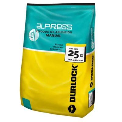 Yeso Alpress manual 25 kg