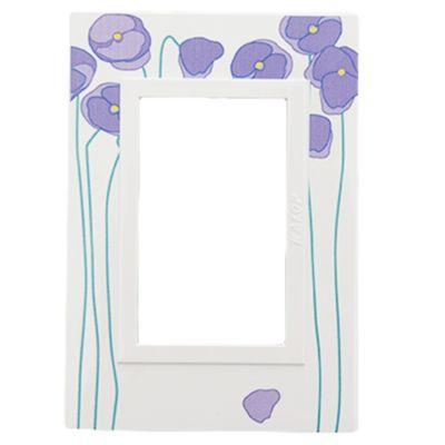 Tapa 3 módulos zen art lilas