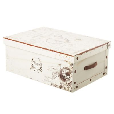 Caja mediana vintage 50 x 35 x 20 cm