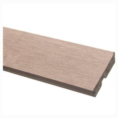 Zócalo recto oak 1.5 x 6 x 260 cm