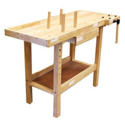 banco de trabajo de madera