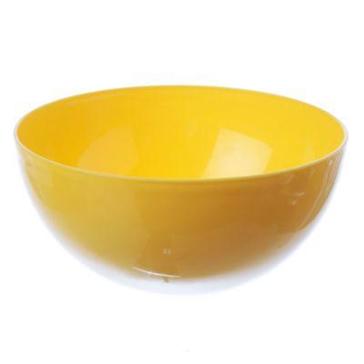 Compotera naranja-amarrillo-fucsia 17 cm