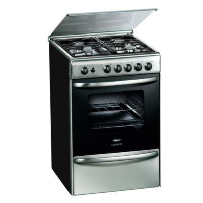 Cocina a gas 18500XF 56 cm 4 hornallas inoxidable