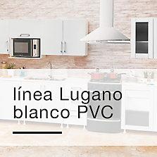 Línea Lugano Blanco PVC