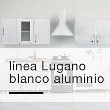 Línea Lugano Blanco Aluminio