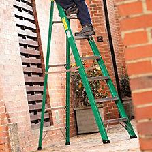 Escaleras tijera de aluminio