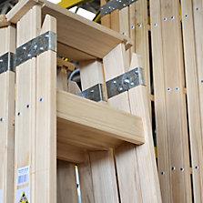 Escaleras precios bajos siempre en sodimac for Escaleras de madera para pintor precios